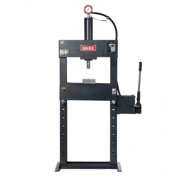 DAKE FORCE 20M 20 TON #72002   DURA-PRESS HYDRAULIC PRESS
