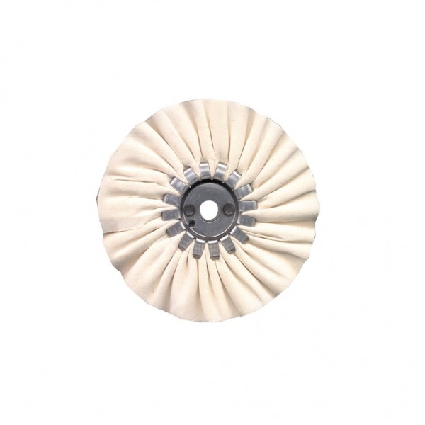 "FORMAX 6"" Type DC Bias-Ply Cotton Buffing Wheel"