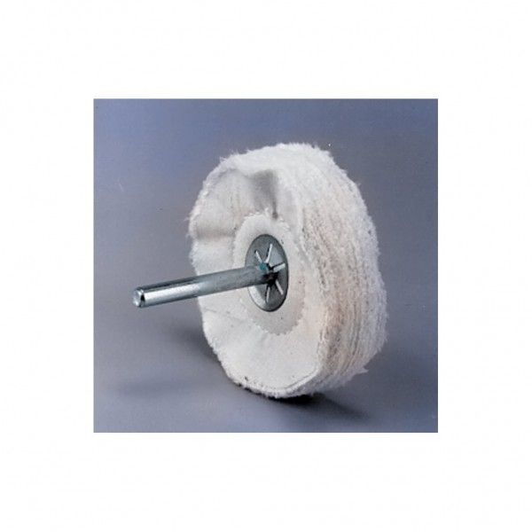 "FORMAX 2"" x 1/2"" x 1/4"" Mounted Buffing Wheel"