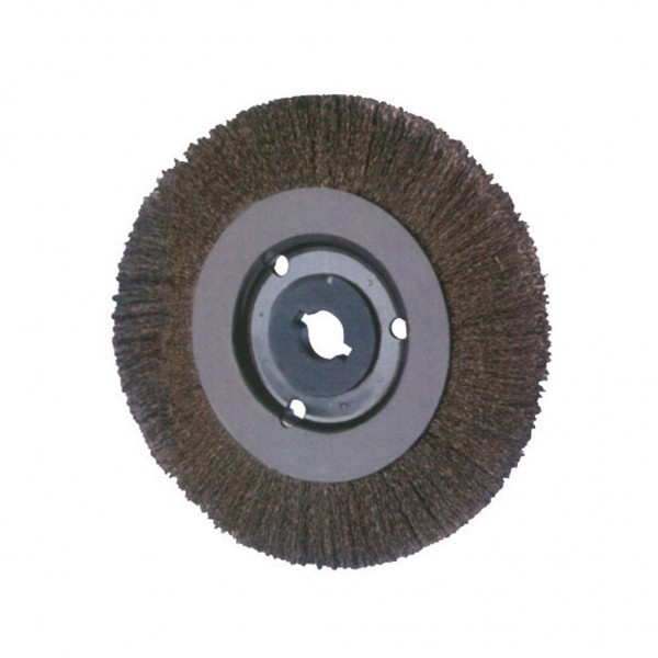 "MILWAUKEE 10"" Crimped Narrow Face Coarse Wire Wheel Brush"