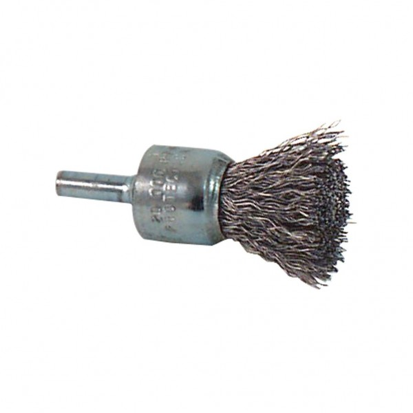"1/2"" .011 MILWAUKEE CRIMPED SS STRAIGHT END BRUSH (20425)"