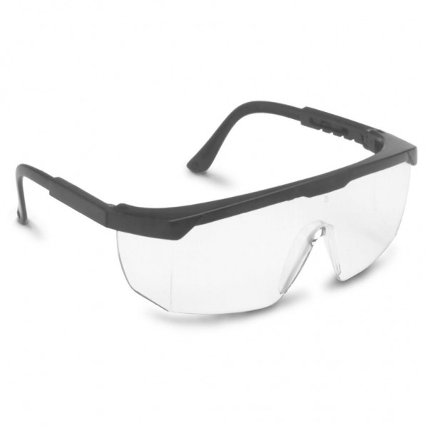 BOUTON 4300 Econolite III Black/Clear Safety Glasses