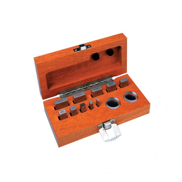 B&S 12PC MICROMETER CHECKING   SET