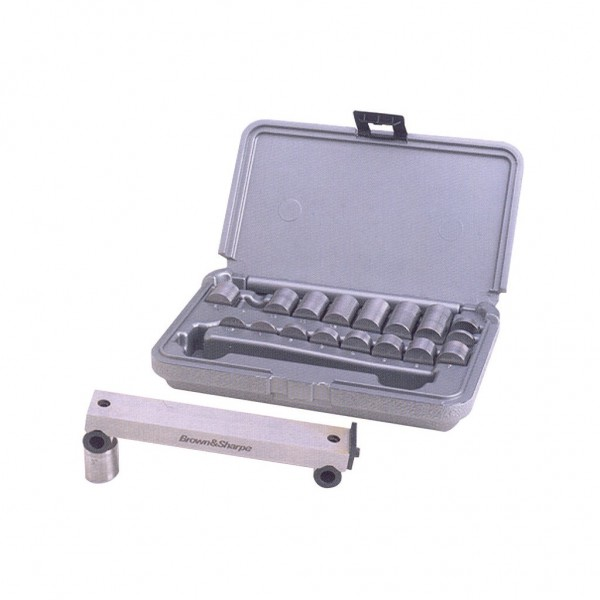 BROWN & SHARPE Sine Bar Set Supplied in Shop Hardened Fitted Molded Case