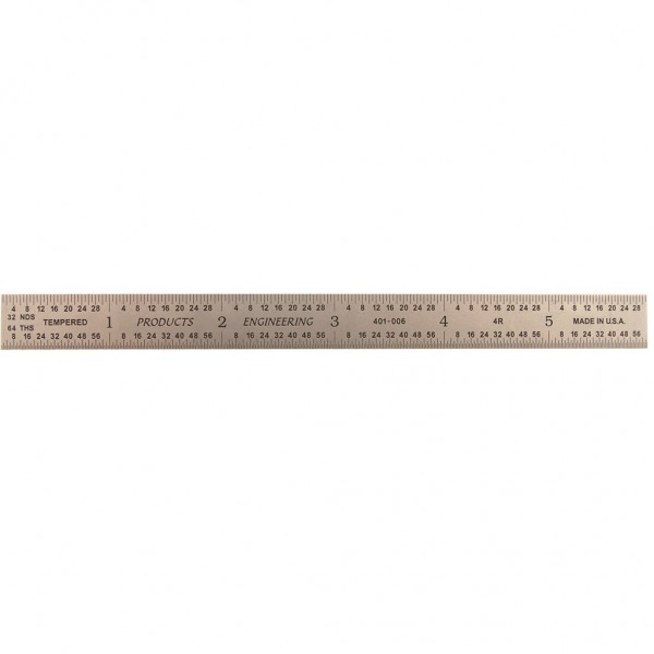 "PEC 6"" 4R FLEXIBLE RULE      (401-006)"