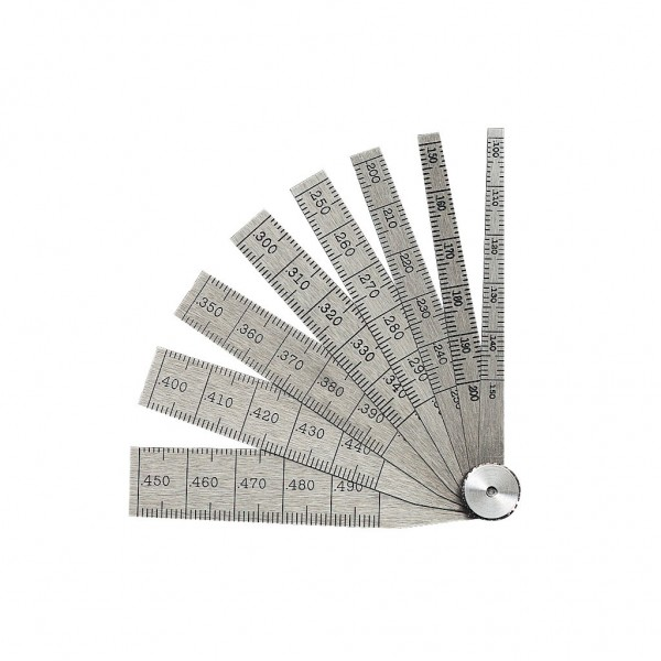 "STARRET Model No.269A .100 - .500"" Taper Gage"