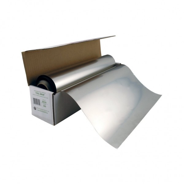 """PRECISION BRAND 50' Long x 12"""" Wide Stainless Steel Tool Wrap"""