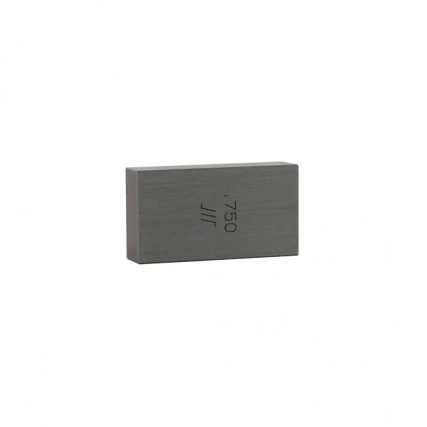 KBC .750 RECTANGULAR GAGE BLOCK (GRADE 2)